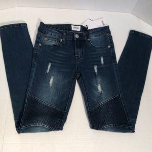 NWT-Hudson Moto Skinny Jeans